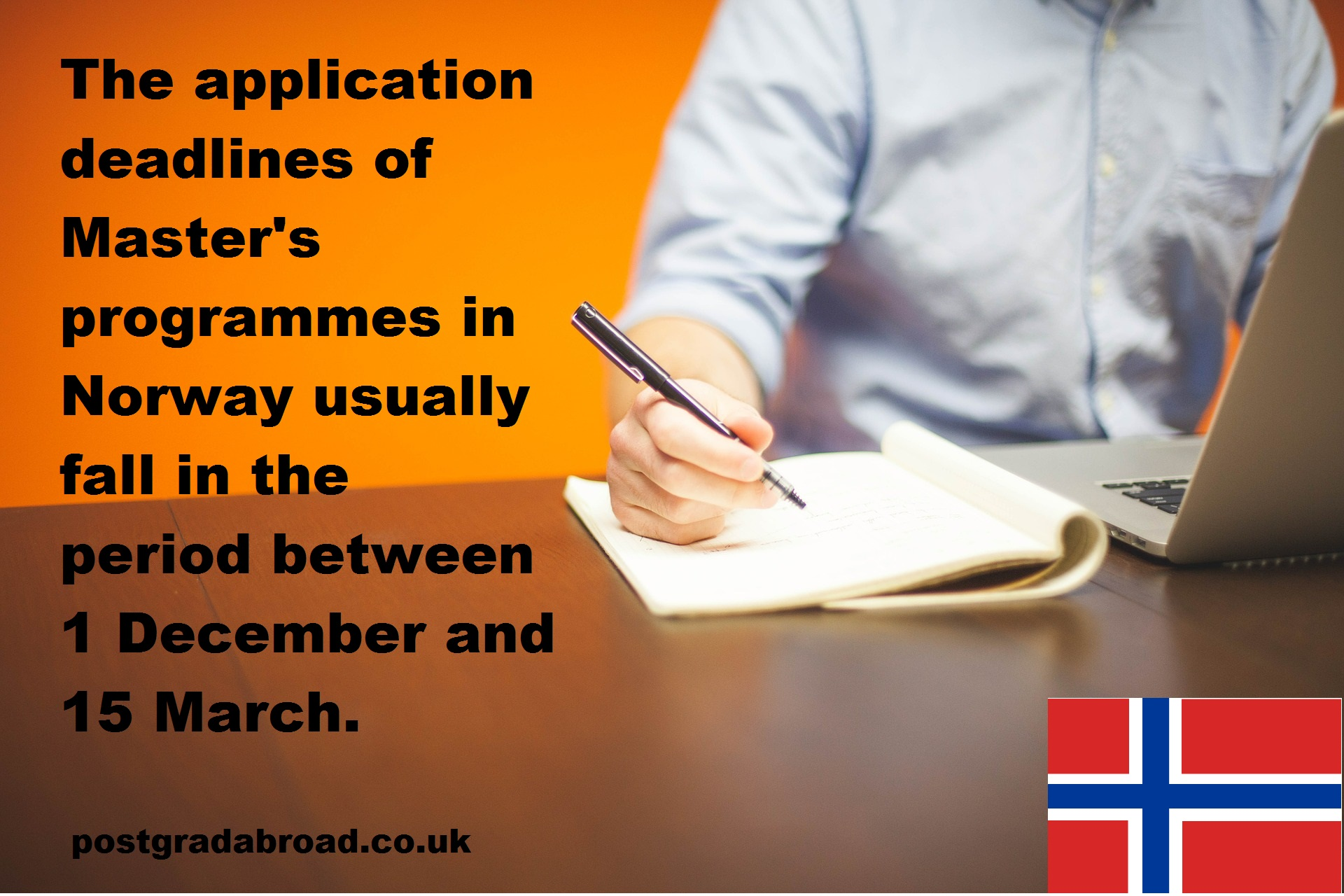 Important information about masters application study in norway